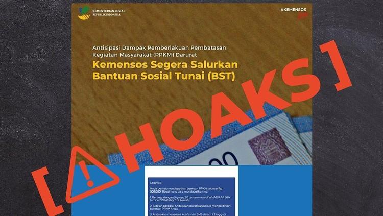 Hoaks Bansos
