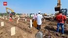 VIDEO: Pemakaman Covid di TPU Rorotan Dilakukan 24 jam