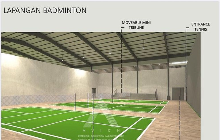 Raffi Ahmad dikabarkan akan membangun sebuah sarana olahraga mewah. Yuk kita intip seperti apa desainnya!