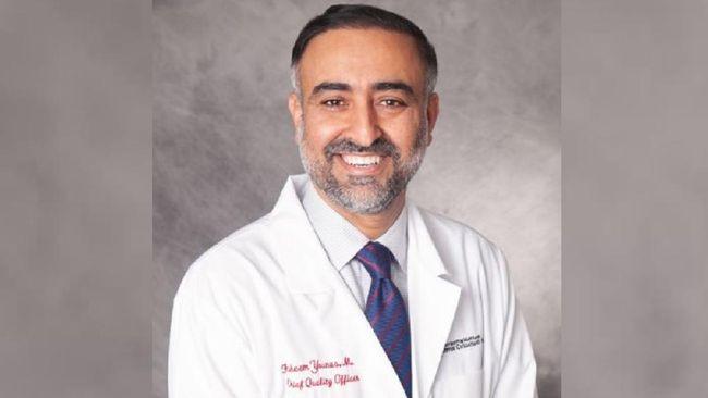 Pakar penyakit menular Universitas Maryland, dr. Faheem Younus, berbagi pengalaman tentang penanganan Covid-19 di AS dan memberi saran bagi Indonesia.