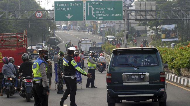 Satgas Penanganan Covid-19 Kota Bogor melalui Polresta Bogor Kota menyiapkan 17 lokasi penyekatan kendaraan demi mengurangi mobilitas saat PPKM darurat.
