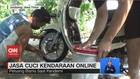 VIDEO: Jasa Cuci Kendaraan Online