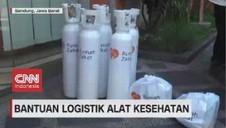 VIDEO: Bantuan Logistik Alat Kesehatan
