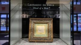 FOTO: Sketsa Beruang Kecil da Vinci yang Terjual Rp174 Miliar