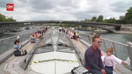 VIDEO: Kegembiraan Prancis Sambut Kembali Wisatawan AS