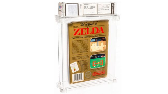 Game langka The Legend of Zelda yang keluar tahun 1986 terjual hingga Rp12,6 miliar dalam pelelangan.