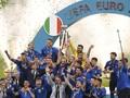 FOTO: Italia Rusak It's Coming Home Inggris di Wembley