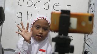 FOTO: Gairah Sambut Tahun Ajaran Baru di Tengah PPKM Darurat