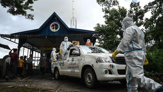 Penanganan pandemi Covid-19 di Myanmar semakin tidak menentu di tengah gejolak politik akibat kudeta.