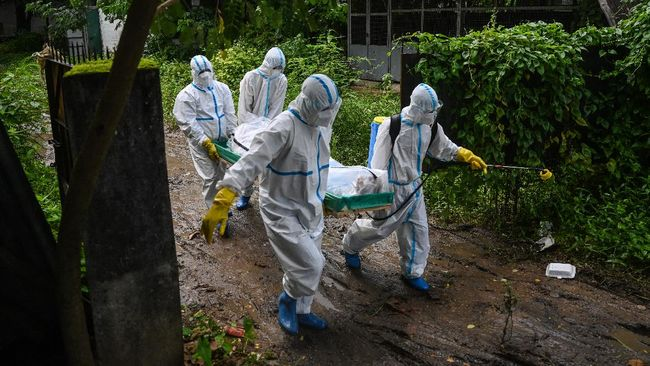 Inggris memperingatkan bahwa setengah dari total 54 juta populasi Myanmar dapat terinfeksi Covid-19 dalam dua minggu ke depan.