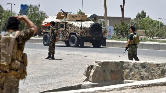 Bentrok Taliban-Afghanistan hingga Jerman Kirim Kapal Perang