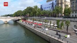 VIDEO: Menikmati Suasana Pantai di Pinggir Sungai Seine