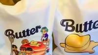 <p>Dalam video yang diambil Vino, goodie bag ulang tahun Jizzy juga bertema yang sama yaitu Butter, salah satu lagu hit BTS. (Foto: Instagram @vinogbastian)</p>