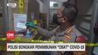 VIDEO: Polisi Bongkar Penimbunan 'Obat' Covid-19