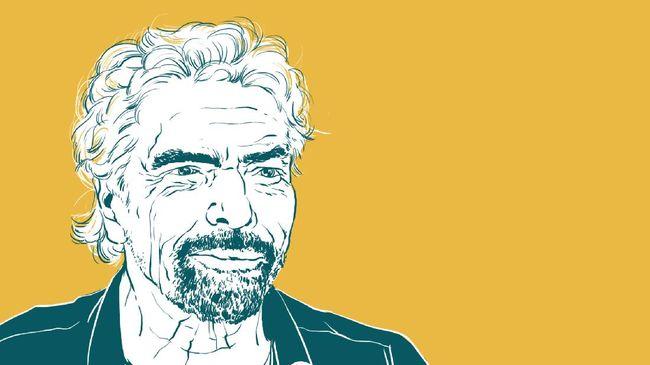 Richard Branson, orang terkaya ke-589 di dunia, berhasil terbang ke luar angkasa. Ia mewujudkan mimpinya setelah 50 tahun kerja keras menggeluti bisnis.