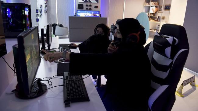 FOTO: Mengintip Lounge Khusus Gamer Wanita di Arab