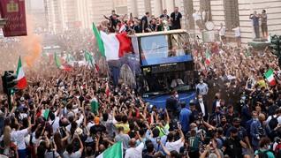 Muncul Klaster Perayaan Italia Juara Euro 2020