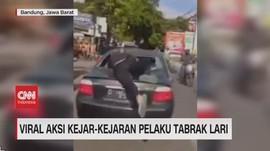 VIDEO: Viral Aksi Kejar-Kejaran Pelaku Tabrak Lari