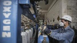 KAI Gratiskan Biaya Angkut Oksigen 80 Ton ke Surabaya