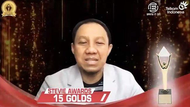 PT Tekom Indonesia menyabet 39 penghargaan pada ajang Asia Pacific Stevie Awards 2021.
