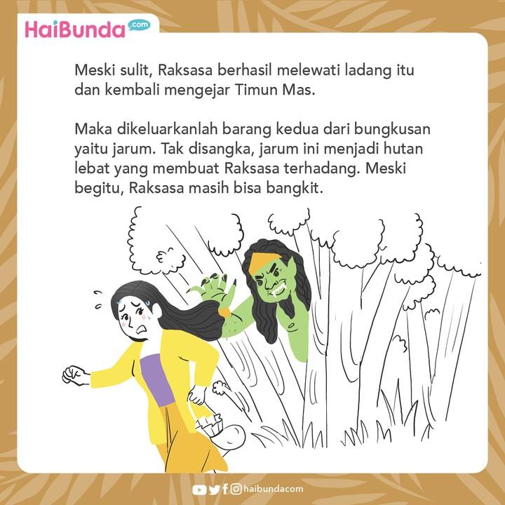 Cerita Nusantara Timun Mas