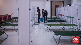 Gedung Ditjen KI Tangerang Jadi Lokasi Isolasi Warga Covid-19