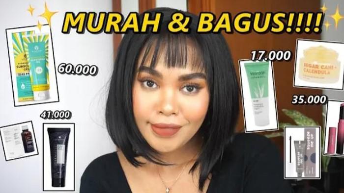 Pilihan Skincare dan Makeup Murah ala Beauty Influencer Lifni Sanders, Mulai dari Rp20 Ribuan