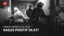 VIDEO: Kasus Positif Covid Harian Meroket hingga 54.517
