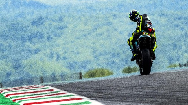 Momen Buruk Valentino Rossi di MotoGP