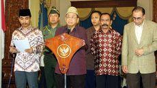 FOTO: Tempo Singkat Pemerintahan Gus Dur