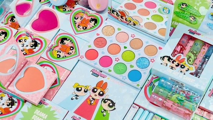 Super Cute! Intip Kolaborasi Colourpop Cosmetics dengan The Powerpuff Girls!