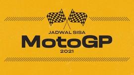 INFOGRAFIS: Jadwal MotoGP 2021 di Sisa Musim