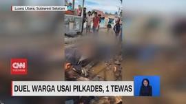 VIDEO: Duel Warga Usai Pilkades, 1 Tewas