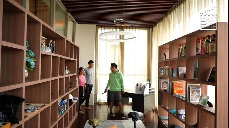 Nikita Willy dan Indra Priawan tinggal di apartemen modern serba mewah setelah menikah. Yuk kita intip!