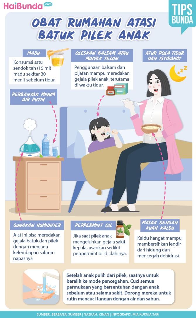Obat Rumahan untuk Atasi Batuk Pilek Anak