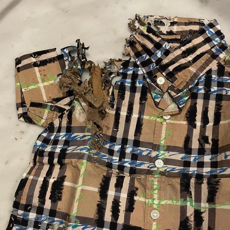 Penampakan Baju Mahal Rachel Vennya yang Dimakan Rayap