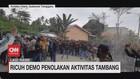 VIDEO: Ricuh Demo Penolakan Aktivitas Tambang