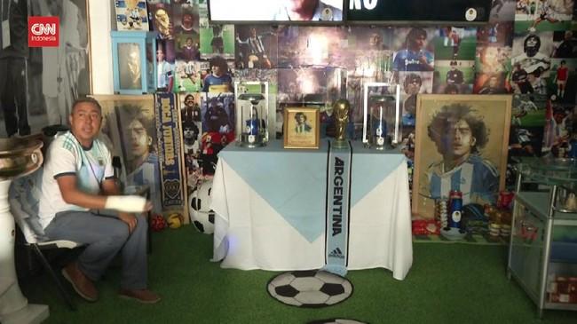 VIDEO: Melongok Gereja Diego Maradona di Meksiko