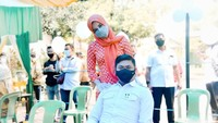 <p>Priska dipersunting Adnan Purichta Ichsan Yasin Limpo yang menjabat sebagai Bupati Gowa, Sulawesi Selatan sejak tahun 2015 lalu.(Foto: Instagram @priskaparamita)</p>