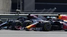 Hamilton Salahkan Verstappen Soal Insiden di F1 GP Inggris