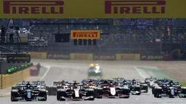 Hasil F1 GP Inggris: Hamilton Menang, Verstappen Kecelakaan