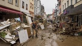 Jerman Sebut Banjir Eropa Mengerikan, Total Korban 188 Orang