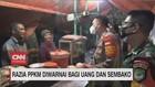 VIDEO: Razia PPKM Diwarnai Bagi Uang dan Sembako
