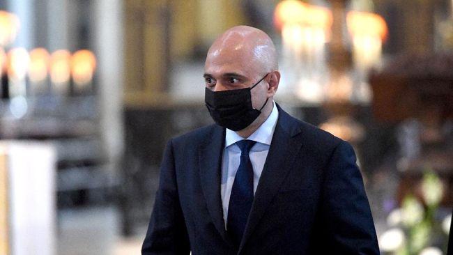 Menteri Kesehatan Inggris Sajid Javid minta maaf dan menghapus cuitan yang berisi dorongan agar masyarakat Inggris