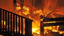 Kapal Terbakar di Muara Baru, Kerugian Ditaksir Rp400 Juta