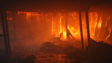 Pasar di Kalideres Terbakar, 60 Kios Hangus
