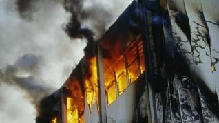 Pemicu Kebakaran Kantor LRT Diduga dari Ledakan Gas Nitrogen