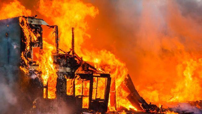 Sebanyak 11 rumah warga di Jalan Veteran Selatan Lorong 41, Makassar, ludes terbakar, Selasa (21/9) malam. Sekitar 21 keluarga kehilangan tempat tinggal.