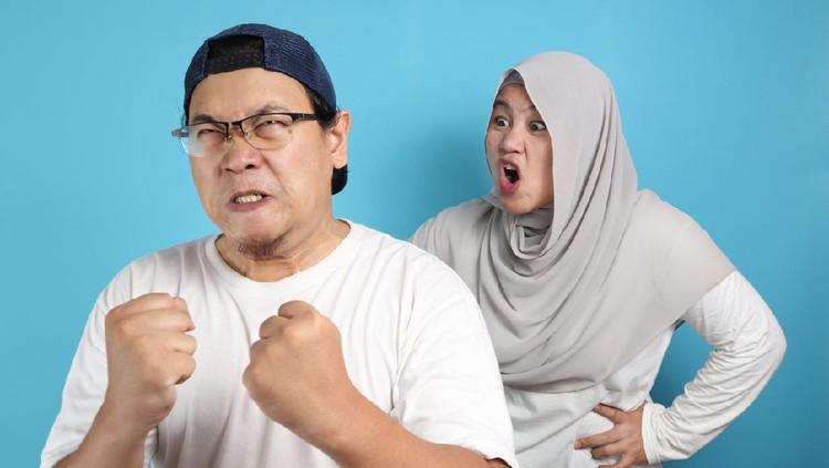 Ilustrasi suami istri