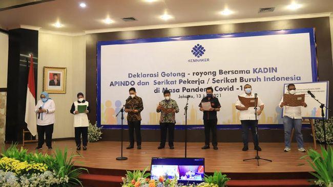 Konfederasi SP/SB meyakini bahwa Deklarasi Gotong Royong akan memberi dampak signifikan saat menghadapi masa PPKM Darurat Covid-19 di Jawa dan Bali.